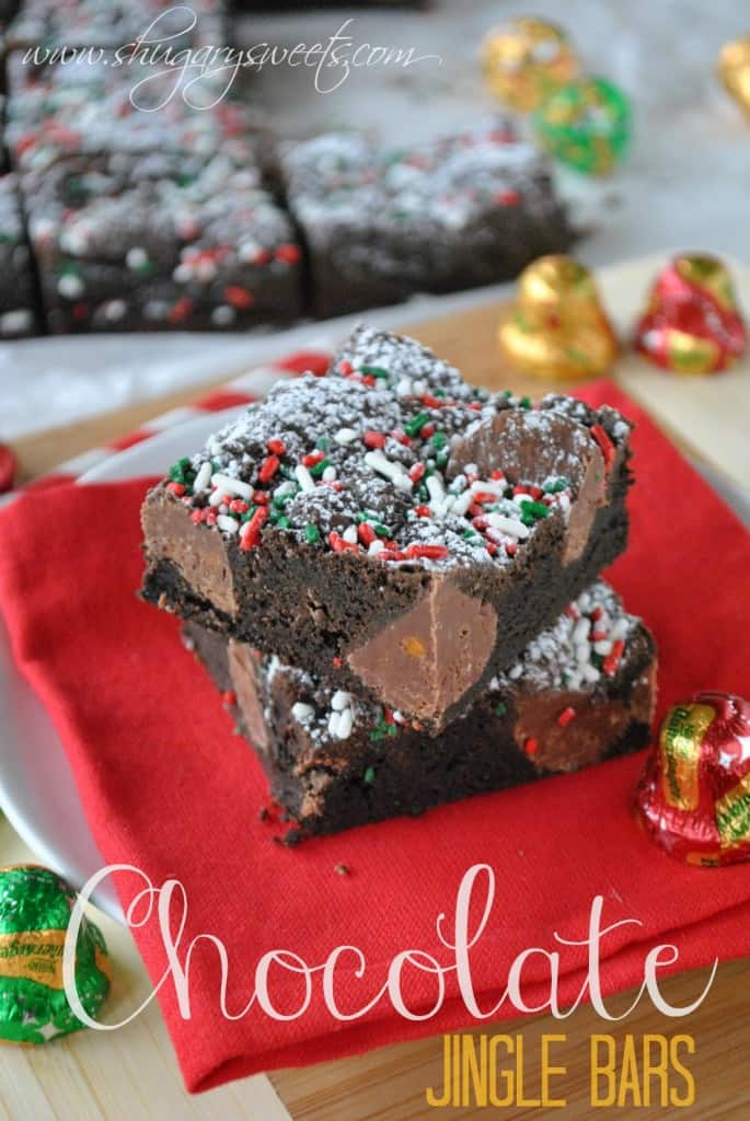 Chocolate Jingle Bars