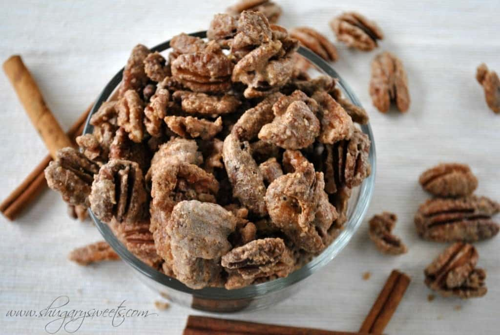 Candied Cinnamon Pecans