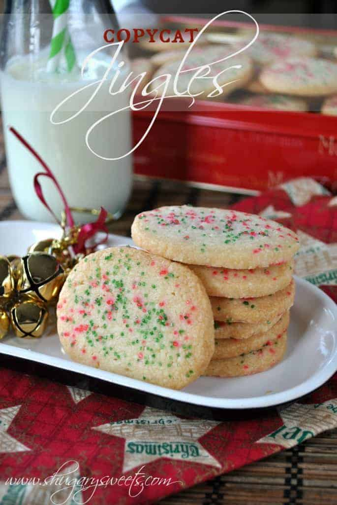 Homemade Jingles Cookies - Shugary Sweets