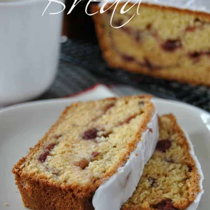 Cranberry and Almond Quick Bread