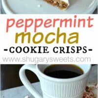 Peppermint Mocha Cookie Crisps