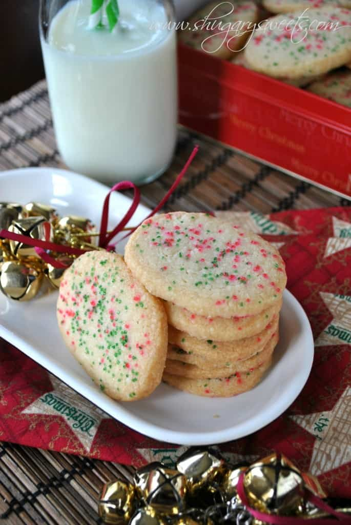 Jingles Cookies: sweet shortbread cookies with anise extract.