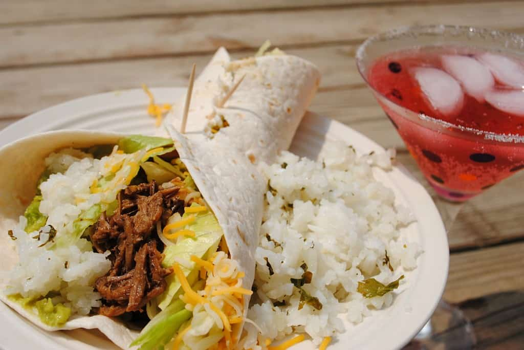 Slow Cooker Barbacoa with cilantro-lime rice from www.shugarysweets.com