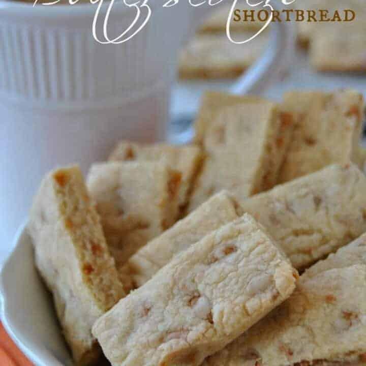 Butterscotch Shortbread Bars