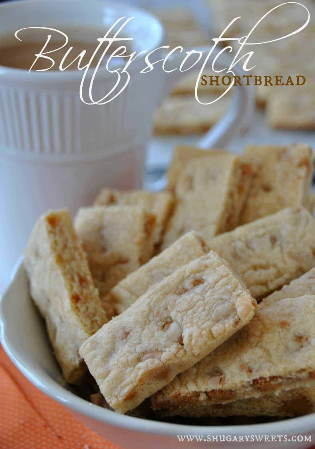 : browned butter and butterscotch chips give these classic shortbread ...