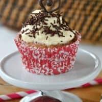 Skinny Cherry Cupcakes