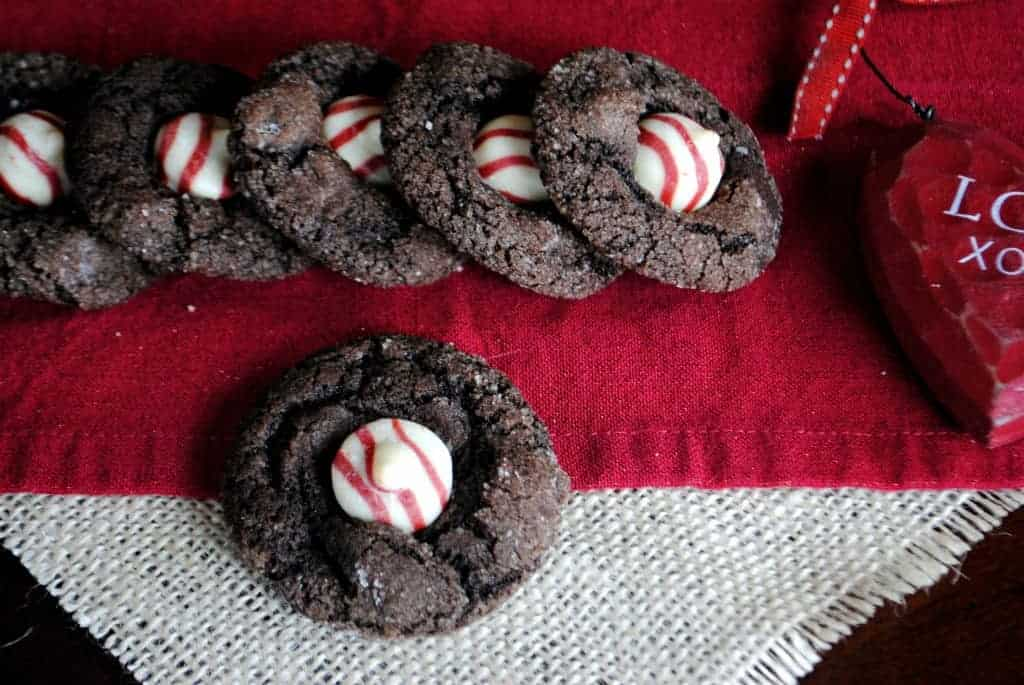 Double Dark Chocolate Raspberry Cookies