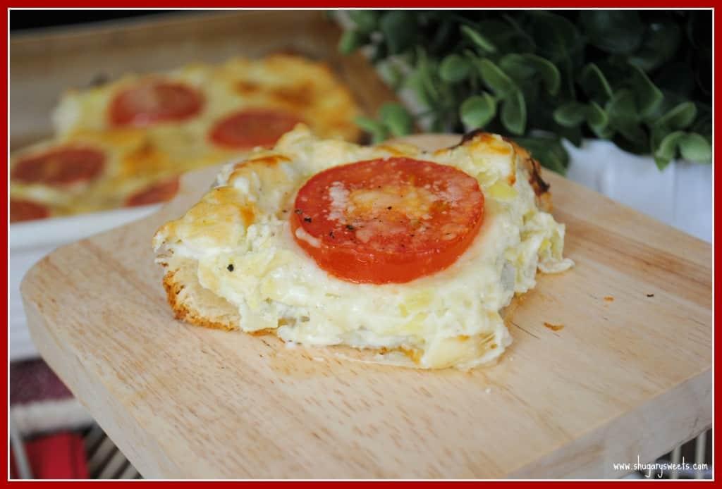 Parmesan Artichoke Bread