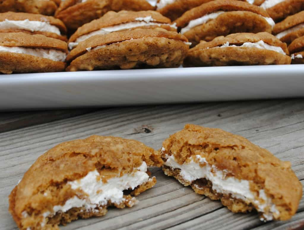 Oatmeal Cream Pies from www,.shugarysweets.com
