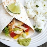 Fish Taco with Avocado Sauce from www.shugarysweets.com