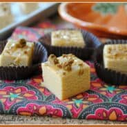 Pumpkin SPice Fudge from www.shugarysweets.com