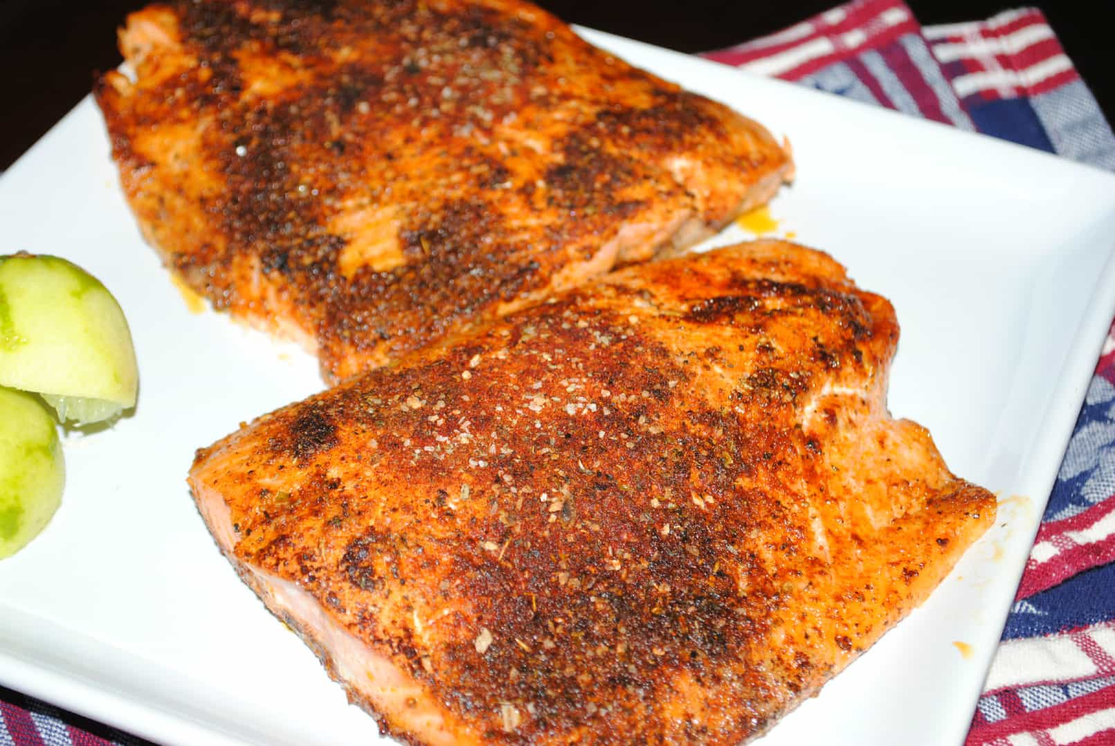 Spices for grilled salmon for Grilled fish seasoning