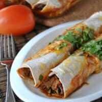 Skinny Beef Enchiladas (PLUS a bonus recipe)