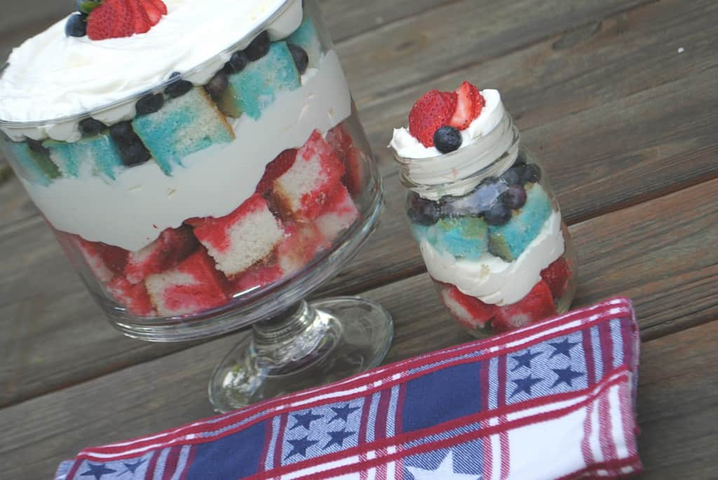 Jell-O Cheesecake Trifle