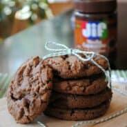 Chocolate Mocha and hazelnut cookies