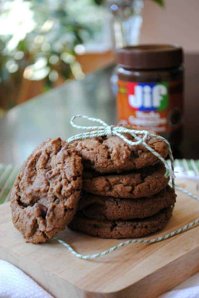 Chocolate Mocha and hazelnut cookies