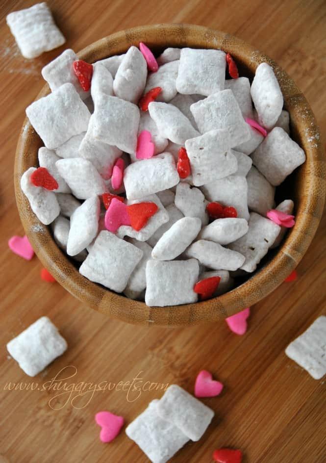 Cherry Vanilla Puppy Chow