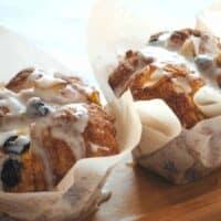 Apple Raisin Cobblestone Muffins
