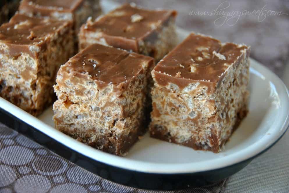 Copycat Kit Kat Bites: little bites of your favorite candy bar made at home! #copycat #kitkat www.shugarysweets.com