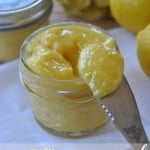 Easy, Homemade Lemon Curd: delicious on toast, cheesecake and pie! So easy to make your own too! #lemoncurd www.shugarysweets.com