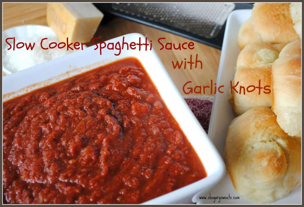 Slow Cooker Spaghetti Sauce from www.shugarysweets.com