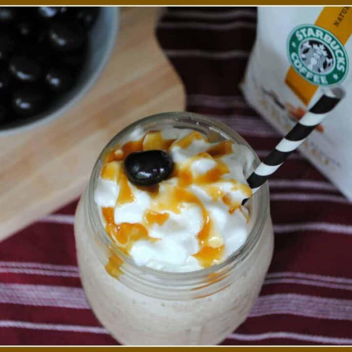 Caramel Coffee Shakes