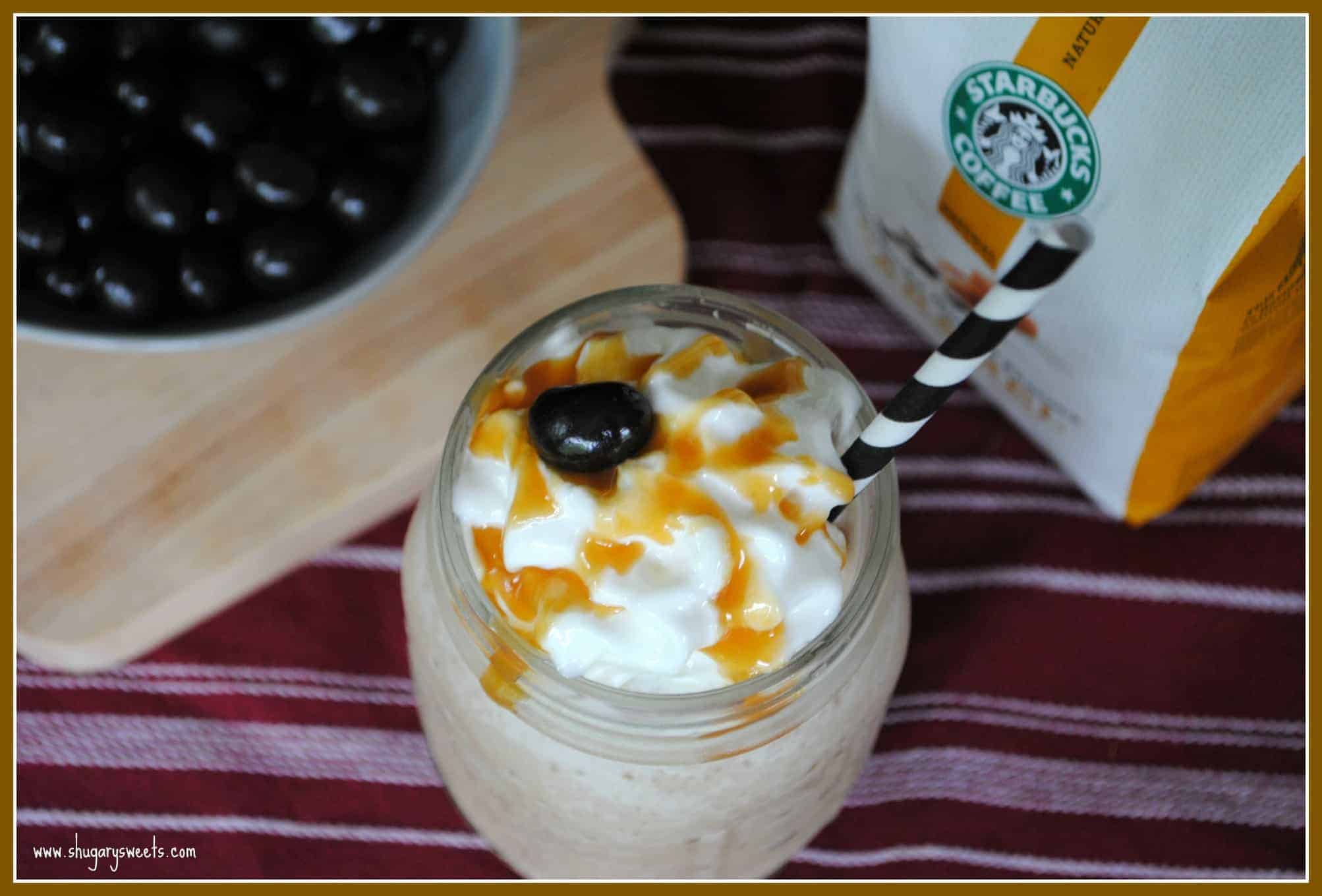 Caramel Coffee Milkshakes from www.shugarysweets.com