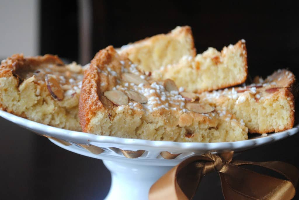 Swedish Almond Coffee Cake from www.shugarysweets.com