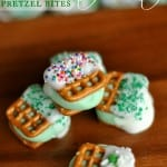 Chocolate Mint Pretzel Bites