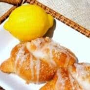 Lemon Knots from www.shugarysweets.com
