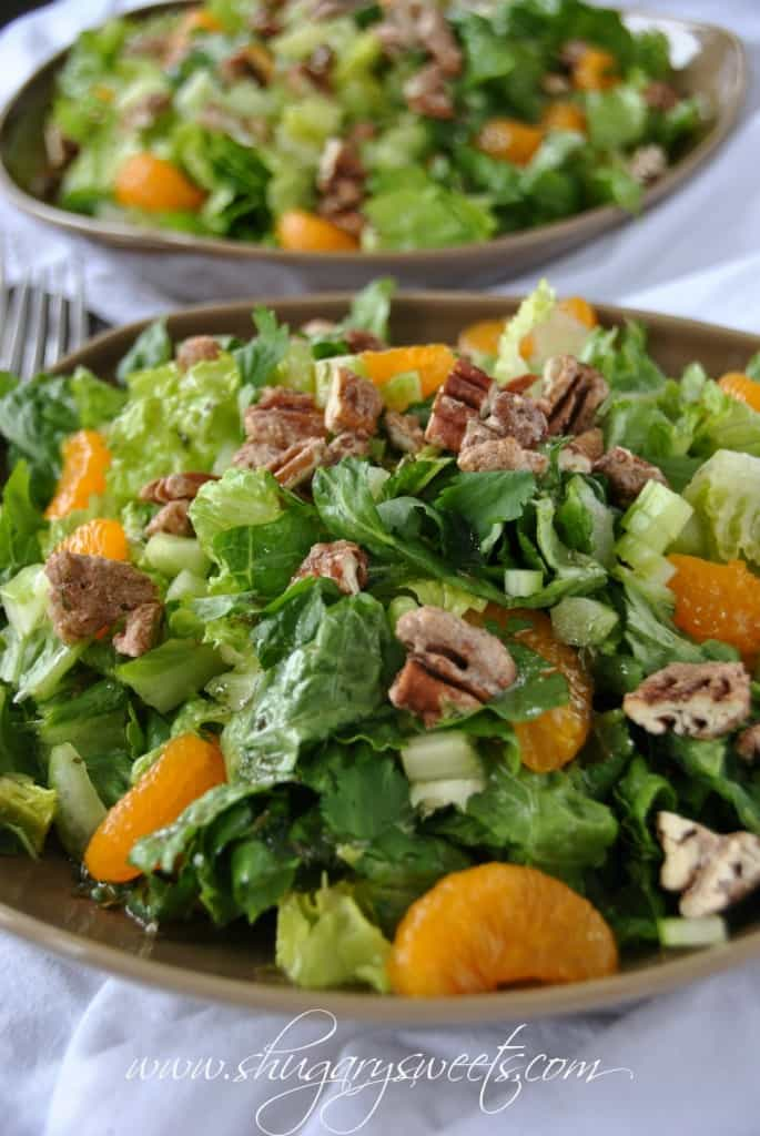 Mandarin Orange Salad from @shugarysweets