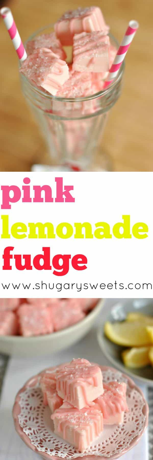 Pink Lemonade Fudge, a sweet treat!!
