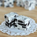 Cookies and Cream Fudge from @shugarysweets