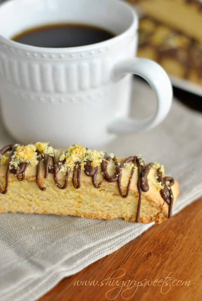 Chocolate Orange Biscotti: a delicious breakfast treat, COOKIES FOR BREAKFAST! @shugarysweets