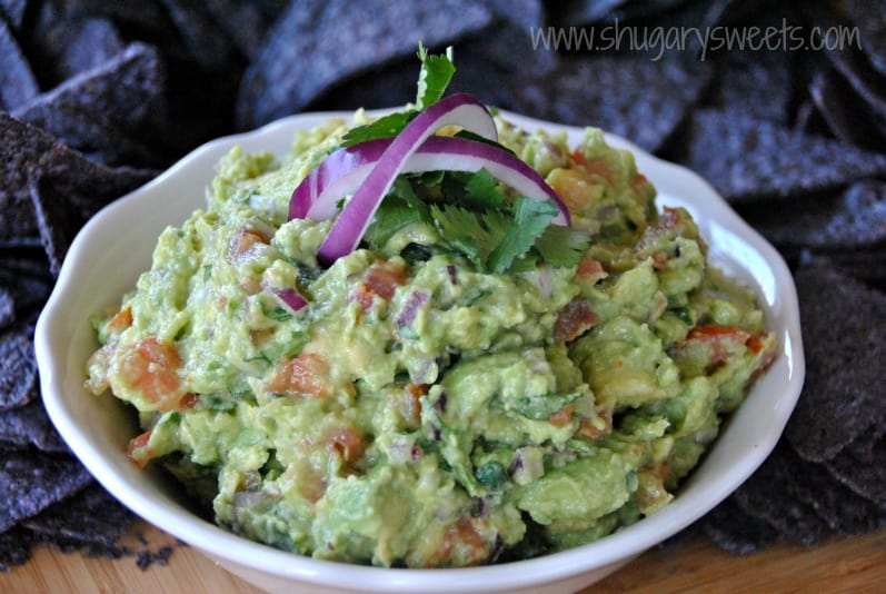 Guacamole: chunky, delicious and perfect #cincodemayo
