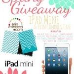 iPad Mini and Erin Condren Folio {for YOU}