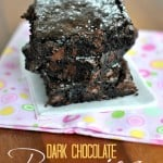 A Perfect Dark Chocolate Brownie Recipe