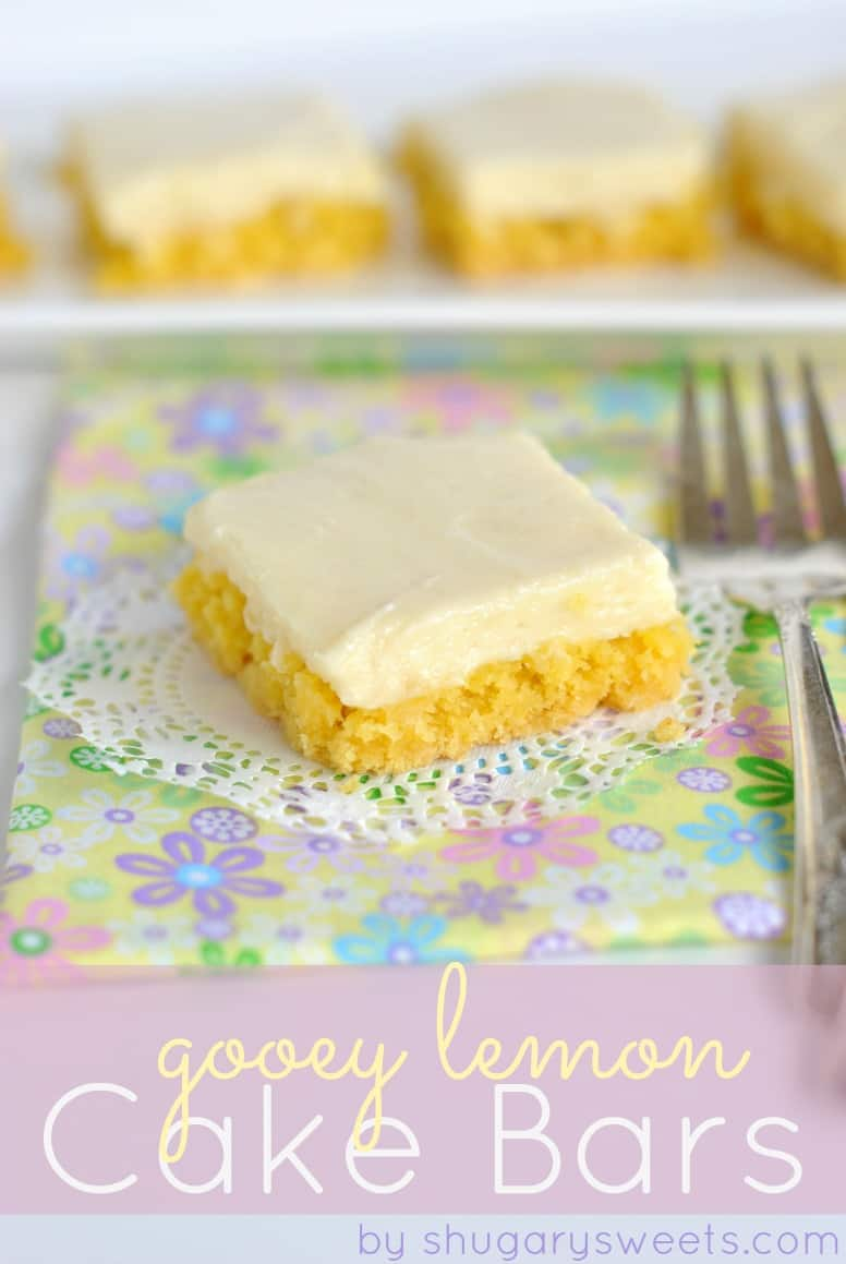 How To Make Lemon Bars From Cake Mix