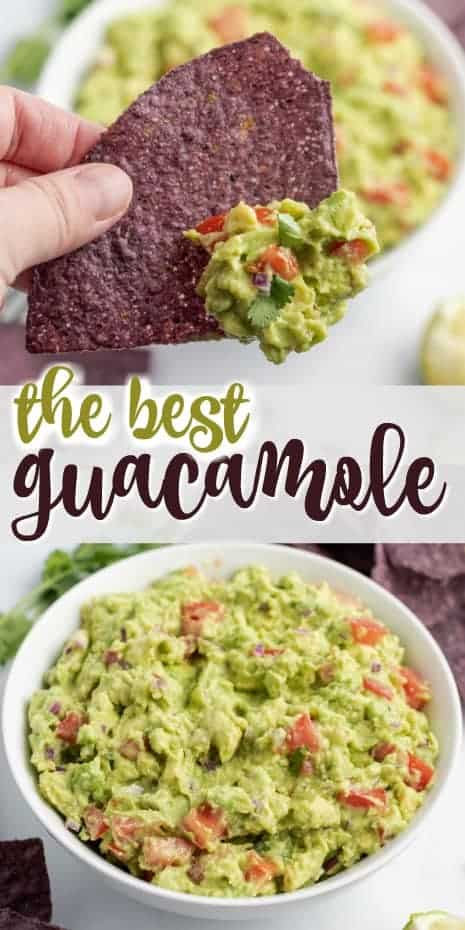 A classic Guacamole recipe perfect for scooping, dipping and topping. With creamy avocado and the bite of red onion, this Guacamole makes a perfect appetizer or accompaniment to any Mexican meal.