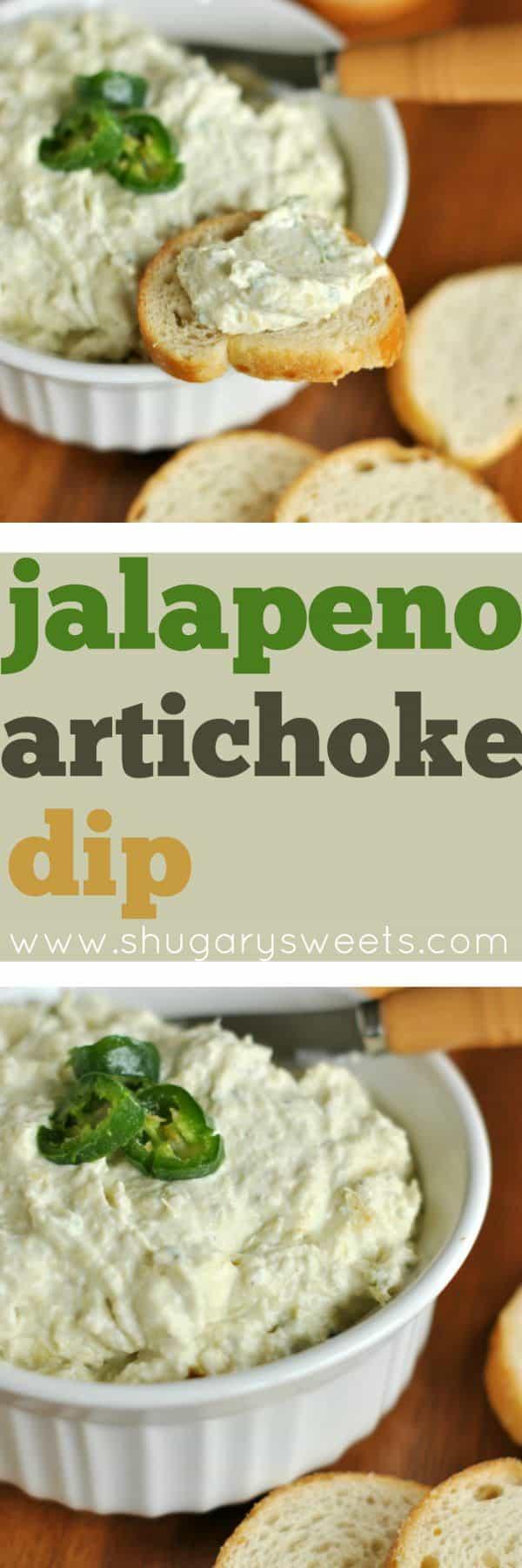 Artichoke Jalapeno Dip , Shugary Sweets