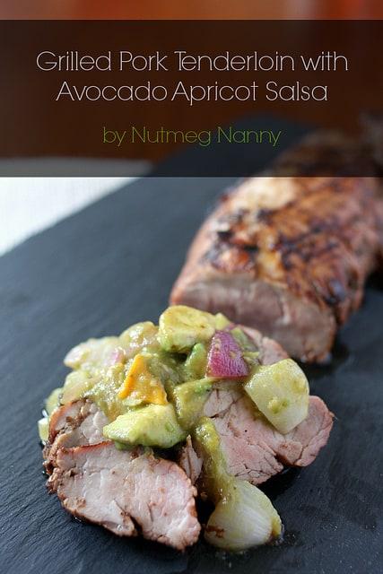 Grilled Pork Tenderloin from Nutmeg Nanny.