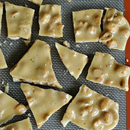 Easy microwave peanut brittle recipe