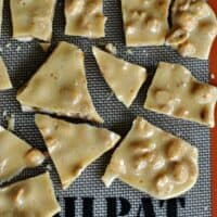 The Best Microwave Peanut Brittle