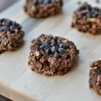 Skinny No Bake Chocolate Peanut Butter Cookies Recipe