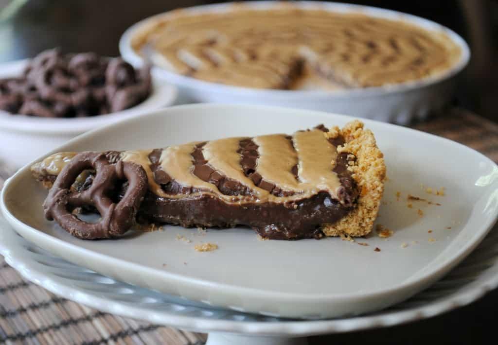 Peanut Butter Pretzel Nutella tart