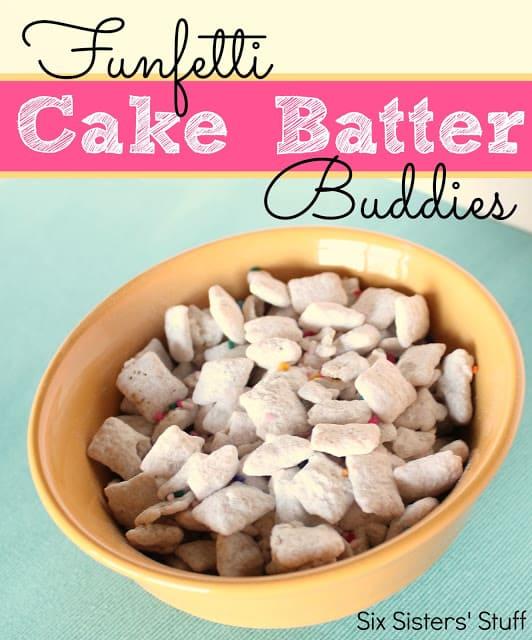 Funfetti Cake Batter Buddies