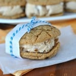Biscoff Ice Cream Cookie Sandwiches