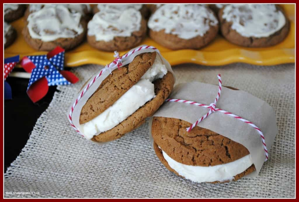 Root Beer Ice Cream Sandwiches
