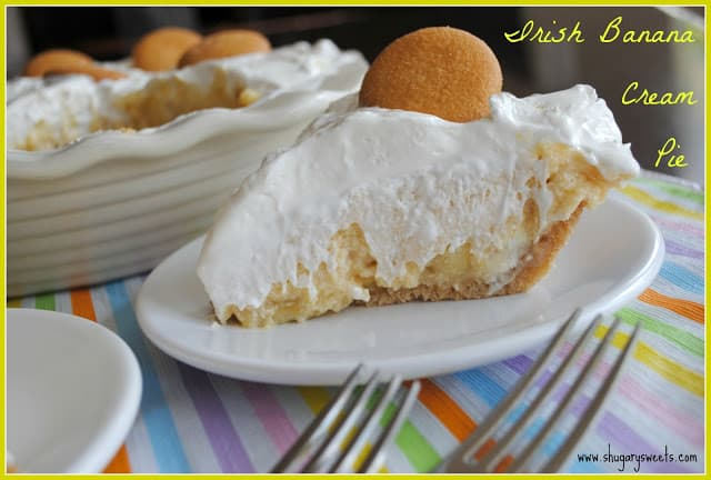 Irish Banana Cream Pie
