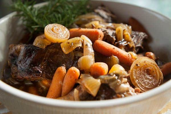 Pot Roast with Balsamic Caramelized Onions from A Southern Fairytale